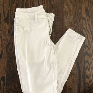 AE Hi-Rise Jegging Next Level Stretch White